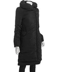 Soia & Kyo : black 'Fara' zip front down jacket : style # 313807901
