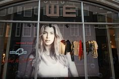 WE Fashion - VIP Shopping Night event - Collection for Doutzen - Window in Amsterdam