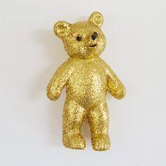 GLiTTER BEAR - GOLD
