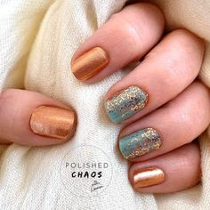 oslo and steady color street combo / oslo and steady color street . oslo and steady color street combo . oslo and steady color street nails Get Nails, How To Do Nails, Hair And Nails, Gold Acrylic Nails, Rose Gold Nails, Nail Color Combos, Nail Colors, Manicure Y Pedicure, Fall Manicure
