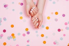 Top 5 Cute Nail Designs You Ll Absolutely Love We Heart Nails Do . Pretty Nail Colors, Pretty Nail Art, Pink Nail Designs, Pretty Nail Designs, Gold Nails, Pink Nails, Dip Manicure, Pretty Nails For Summer, Nail Design Video
