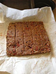 No bake, quick protein bars
