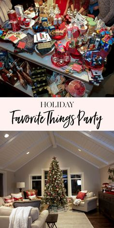 day party for adults romantic Holiday Favorite Things Party – The best ideas Christmas Party Ideas For Teens, Adult Christmas Party, Christmas Party Favors, Xmas Party, Holiday Parties, Holiday Fun, Christmas Holidays, Christmas Gifts, Holiday Party Themes