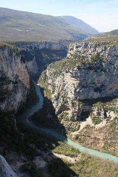 Gorges du Verdon: les gorges, France