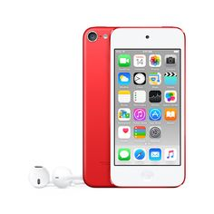 Apple iPod touch 5th Generation 16GB - Red Iphone 5s, Iphone Cases, Ipod Touch 6th Generation, Silver Apples, Blu Ray Movies, Music App, Health App, Facetime, Apple Music