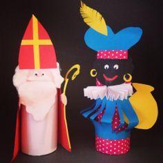 sinterklaas knutselen wc rol - Google zoeken Fall Crafts, Diy And Crafts, Paper Crafts, Toddler Fun, Toddler Crafts, Diy For Kids, Crafts For Kids, St Nicholas Day, Types Of Craft