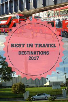 Dreamy Maldives| Sexy Brazil| Best in Travel 2017| Beach Destinations 2017| Adventure safaris 2017|