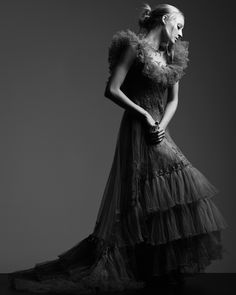 Ray Mendel Couture  Beauty: Raphael Henry  Model: Daiana Stein
