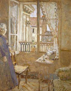 Al final de sus días, pasó muchas horas mirando la calle por la que había dejado marchar al amor de su vida. La Fenêtre ouverte, Edouard Vuillard.