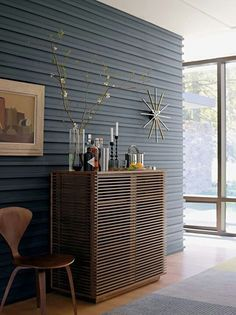 Incroyable Industrial Corrugated Metal Painted Wall. Cool Texture... Interior ...