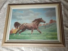 Dealer or Reseller Listed Vintage Art Prints Roy Moore, Vintage Art Prints, Horse Print, Worlds Largest, Moose Art, Horses, Feelings, Brown, Frame