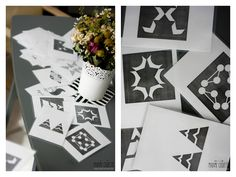 Madame Coquette: DIY / černobílé obrázky pro miminko