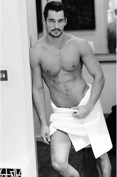 [ David Gandy Towel series 8 By Mario Testino via Mario Testino IG ]