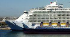 28 paquebots gigantesques qui font passer le Titanic pour un petit bateau de…
