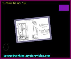 Free Wooden Gun Safe Plans 195110 - Woodworking Plans and Projects!