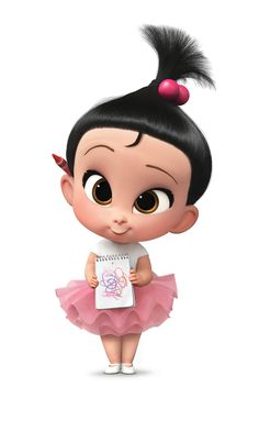Staci is one of the supporting characters in The Boss Baby. She is the sole female member of the. Baby Cartoon Characters, Cartoon Art, Cute Disney Wallpaper, Cute Cartoon Wallpapers, Boss Baby, Dreamworks Animation, 3d Character, Baby Party, Baby Birthday