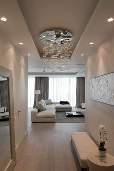 Top Modern Living Room Interior Designs and Furniture Home Living Room, Interior Design Living Room, Living Room Designs, Living Room Decor, Plafond Design, Home Room Design, House Styles, Home Decor, Decorating Ideas