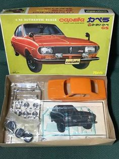 Mazda Capella Rx2 model kit 1/24 scale by Gerry R