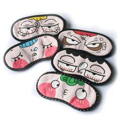 1 Pcs Mix Kawaii Mask Sleep Aid Eye Shades Blindfold Mask Cover Travel Relax