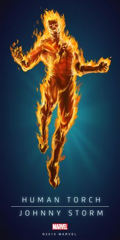 Human Torch Classic Poster-01