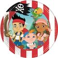 8 stk. Jake og Piraterne tallerkner 20 cm.