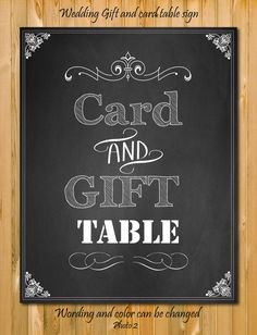 Wedding Gift Card Table : Gift Table Signs on Pinterest Wedding Gift Tables, Gift Table and ...