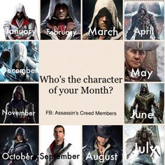 JACOB! YAY <3  Though I'd take March, April, and July, too. >>> Jacob. Haven't played that one yet... My sister has Desmond though,