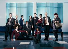 WATERLOO ROAD - Contemporary drama series set in a challenging comprehensive school. Drama Series, New Series, Ackley Bridge, Moving To Scotland, Waterloo Road, Bbc One, Series Movies, Punk Rock, Favorite Tv Shows
