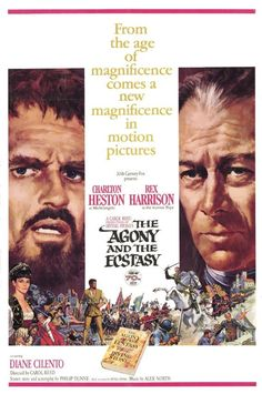 THE AGONY AND THE ECSTASY (1965, United States).