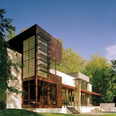 Crab Creek House by Robert Gurney Architect.