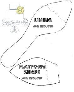 Part+1+of+Platform+Shoe+Template Plantilla zapato completo #2