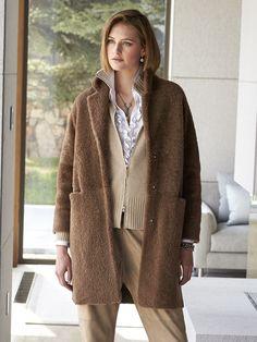 Liza Shearling Coat