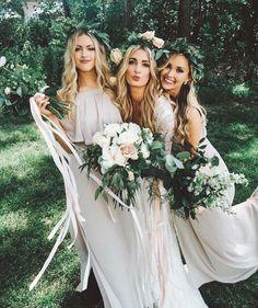 Beautiful 63 Stylish White Bridesmaid Dresses For Your Wedding