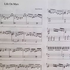 Time to start practicing! Definitely one of the hardest things I've ever had to play but it will be worth it when I can get it right! #davidbowie #Bowie #lifeonmars #music #piano #sheetmusic #pianomusic #pianopractice #practice #musicpractice by clairebear_2508