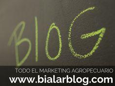 Todo el Marketing Agropecuario y Hortofruticola en un solo lugar. Tendencias y Social Media Agropecuario. www.bialarblog.com - info@bialar.com