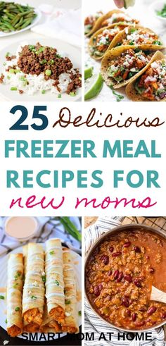 25 easy freezer meal
