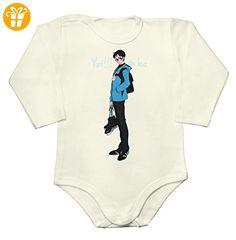 Yuuri Katsuki Portrait Baby Long Sleeve Romper Bodysuit Extra Large - Baby bodys baby einteiler baby stampler (*Partner-Link)