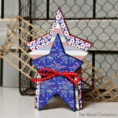 The Wood Connection - Stacking Stars, $4.50 (http://thewoodconnection.com/stacking-stars/)