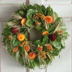 traditional ivy wreaths | Thanksgiving Heirloom Wreath | Trees & Wreaths Gifts | Harry & David