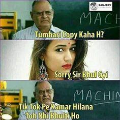 Funny Cartoon Memes, Very Funny Memes, Latest Funny Jokes, Funny Jokes In Hindi, Funny School Memes, Memes Funny Faces, Some Funny Jokes, Stupid Funny Memes, Funny Relatable Memes