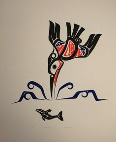 Kingfisher - Limited Edition Serigraph by Art Thompson