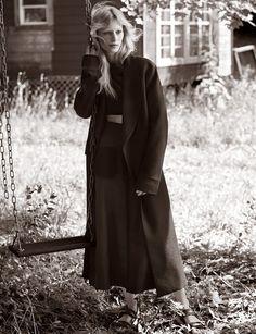 Julia Nobis by Josh Olins for Vogue UK November 2014