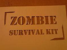 Zombie/ Horror Movie themed birthday party games - 1 - Deutsch
