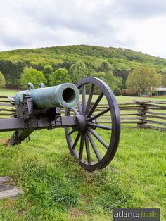 Hike or run these top Kennesaw Mountain trails near Atlanta through Civil War history and natural beauty