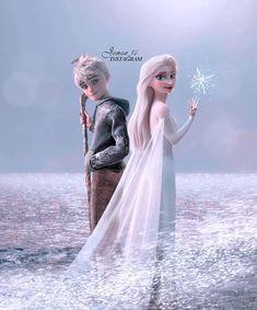Disney Princess Frozen, Elsa Frozen, Elsa Olaf, Sailor Princess, Jack Y Elsa, Jack Frost And Elsa, Aesthetic Themes, Aesthetic Collage, Jelsa