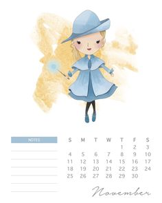 Calendario 2018 de Harry Potter para Imprimir Gratis.