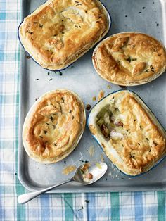 Use leftover roast chicken to make this cheap and comforting pie recipe.
