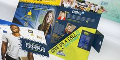 Marketing materials for education that are sure to catch students' eyes.