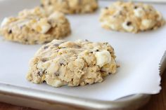 cornflake chocolate chip marshmallow cookies