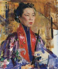 Artist - Nicolai Fechin (1881-1955) Russian-born American Painter.